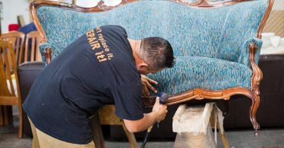 Professional antique repair and refurbishment.
