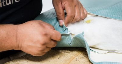 Quality upholstery repair for many different types of fabric.