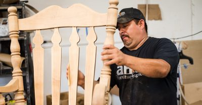 Professional wood furniture repair..