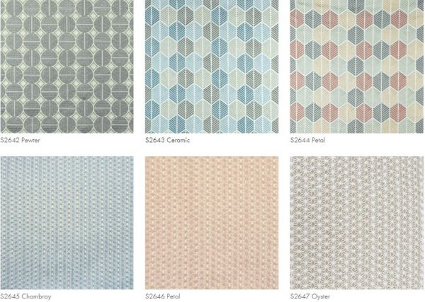 Different kinds of patterns, samples.